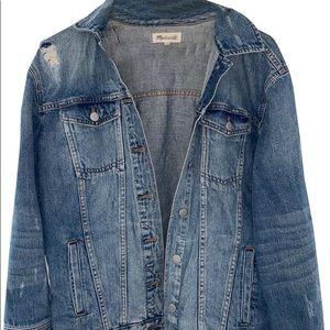 Madewell oversized Demin jacket